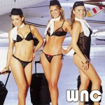 The flight crew for the WNC private jets.