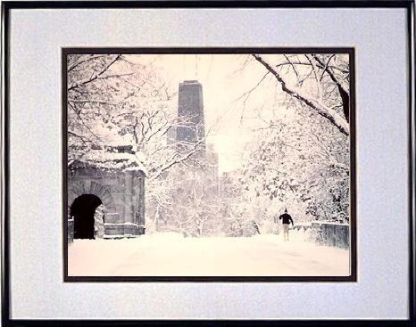 Chicago snow winter