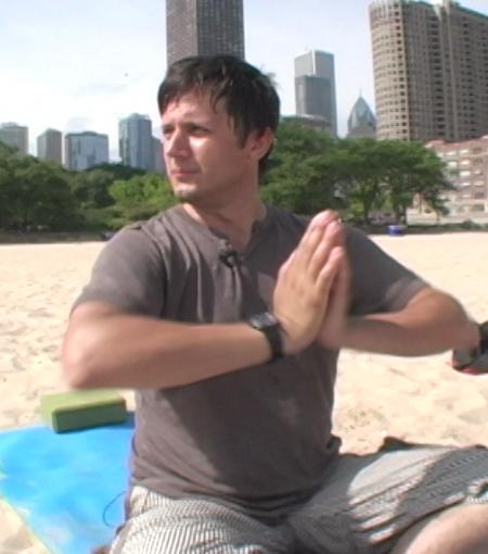 Pogo on the Beach