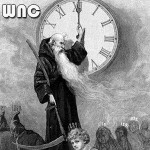 Did you notice that Father Time & the Grim Reaper look a lot alike? There's a reason for that.