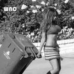 Don't mind me, I'm just walking my trash.