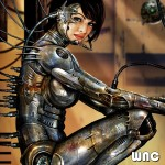 Getting sexy wit yo cybernetic self.